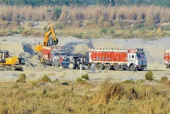UP sand mining scam: ex-Minister's home among 22 places raided