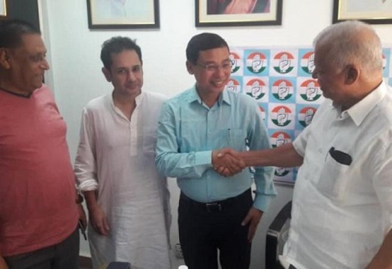 Rajeswar Debbarma joins Congress