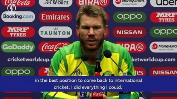 I am pumped to be back: David Warner