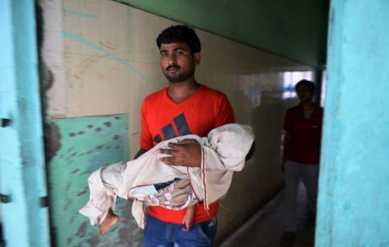 India : Children death toll reaches 77