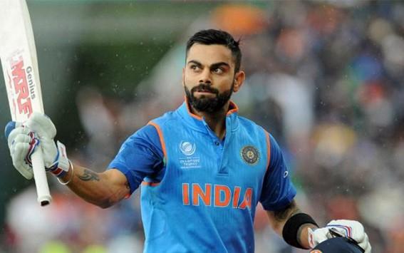 Kohli becomes fastest batsman to score 11,000 ODI runs