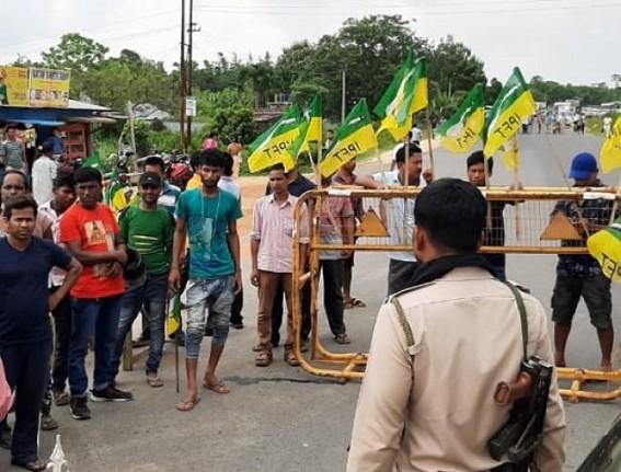 Tension between BJP, IPFT continues in Tripura, public life suffering