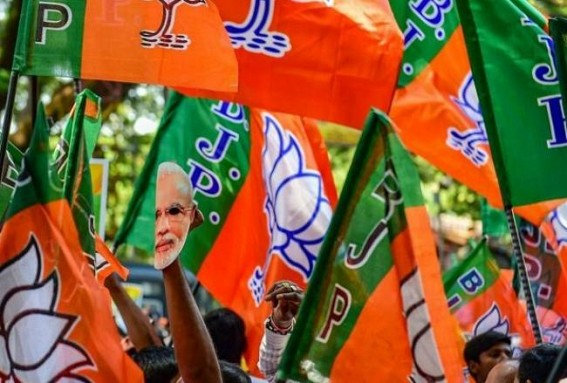 Tripura Panchayat Election : BJP wins 82% seats uncontested, Oppositions alleged intimidation