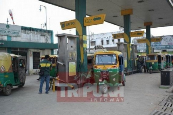 More CNG Stations by 2020, February in Tripura