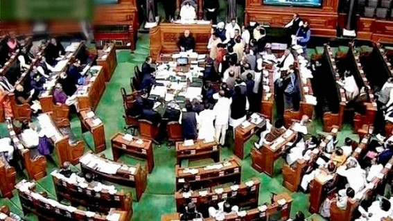 Congress walks out of RS, CPI slams Budget