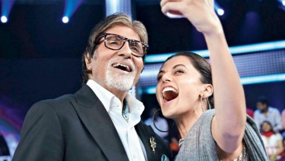 Taapsee Pannu is completely chilled out: Amitabh