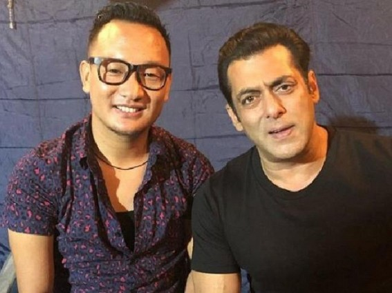 Salman Khan croons with 'Indian Idol' star Thupten