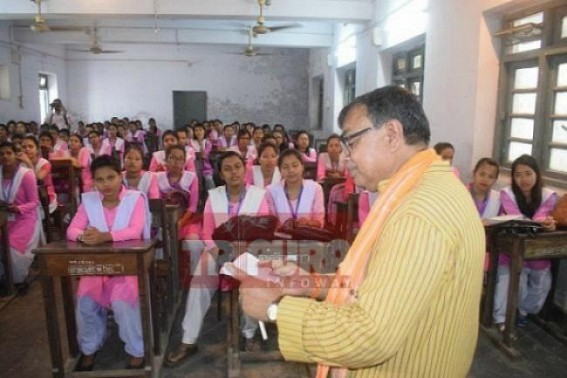 Tripura Students deprived of admissions in Colleges even after 5 days of classes began, Minister Ratan Lal's Education Dept in slumber amid sets of protests