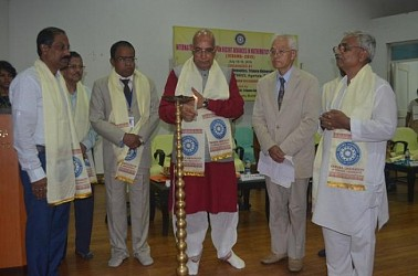 Governor inaugurates international conference on 'Recent Advances in Mathematics & its Applications' at Tripura University. TIWN Pic July 16