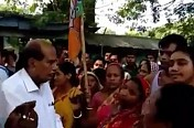 Belonia's BJP MLA face villagers outrage, public express anger on Non-Performance, Jumla promises
