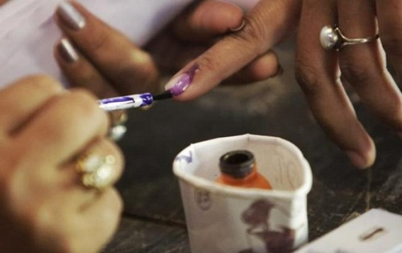 Voting-Demonstration conducted for Tripura Panchayat Election