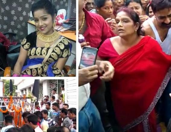 Died in Kolkata road accident, Tripura daughter Nikita Sengupta's dead body brought in home