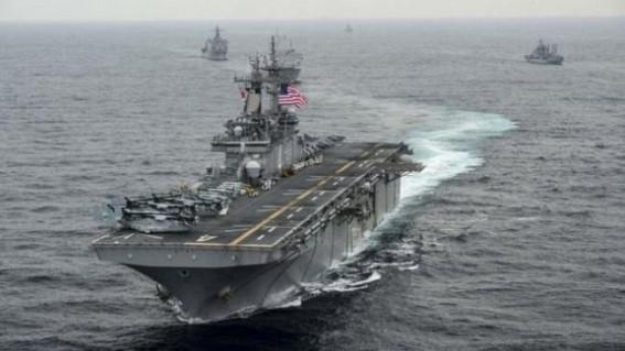 US warship destroys Iranian drone: Trump
