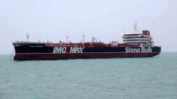 All crew of captured British oil tanker safe: Iranian official
