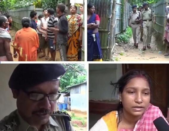 Hanging body of couple found in Champamura, Police suspects murder : 16 murders in June month in Tripura, 67 murders in last 6 months