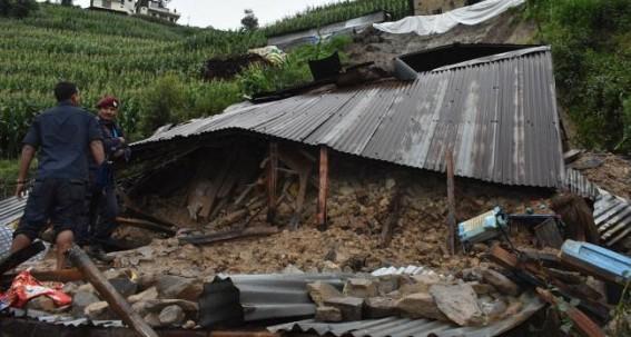Mudslide kills 8, buries 5 houses in Nepal