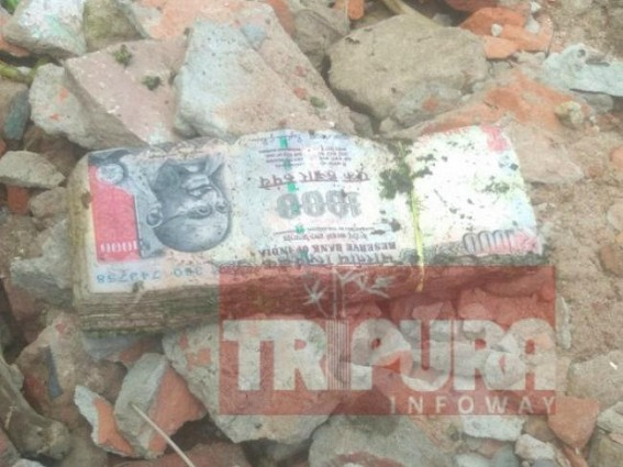 Swatch Bharat' drive unearths banned currency notes in Agartala