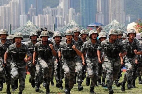 China 'can deploy military in HK to contain protests'