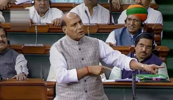 No question of accepting mediation on Kashmir: Rajnath