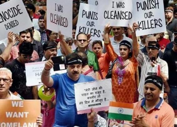 Kashmiri Pandits want Article 370 to go