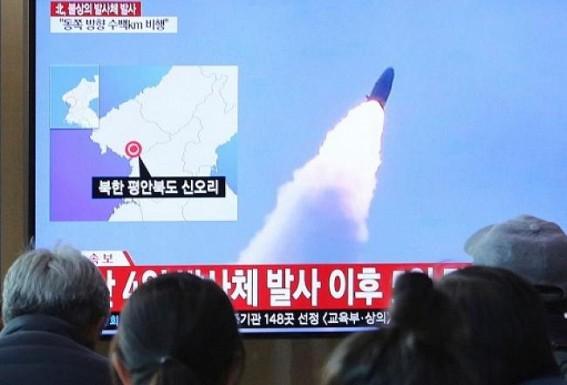 N. Korea fires 2 short-range missiles into East Sea