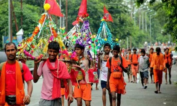 As drones monitor Kanwar Yatra, Dehradun-Delhi Highway closed till July 30