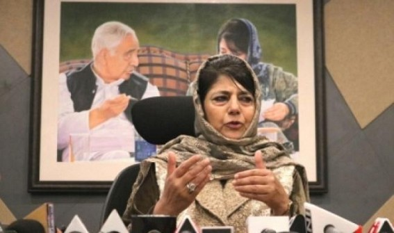 J&K problem can't be solved by military means: Mehbooba