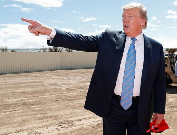 Trump can use military funds for border wall: US SC
