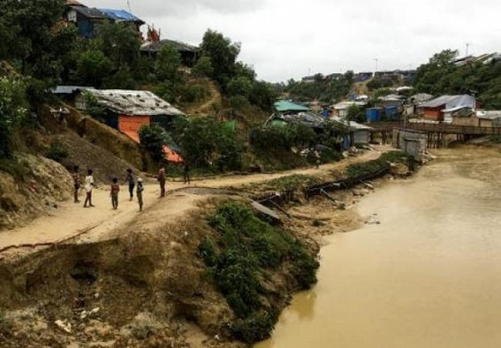 13 dead in a massive landslide in Myanmar