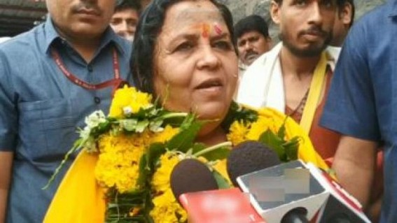 Will wear saree next time if Mahakal priests ask: Uma Bharti
