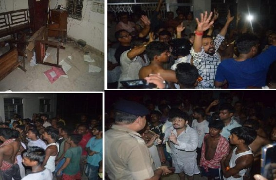 TSECL under Power Minister Jishnu Devvarman turned hopeless, record long load-shedding kept SMART(?) City Agartala Dark : Public suffering turned violent, ransacked Sub-Stations