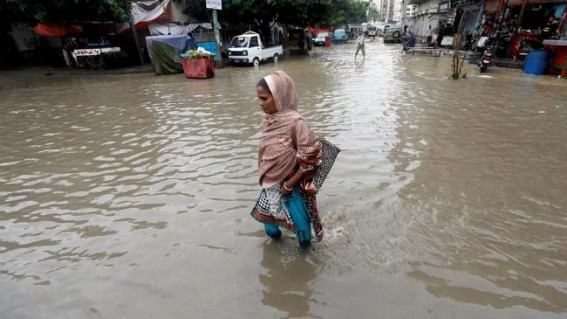 Pakistan rains death toll reaches 27