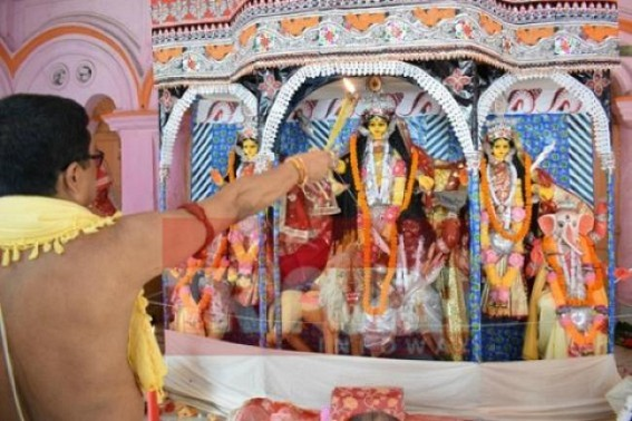 Countdown begins for 4-days-long Durga Puja celebration in Tripura