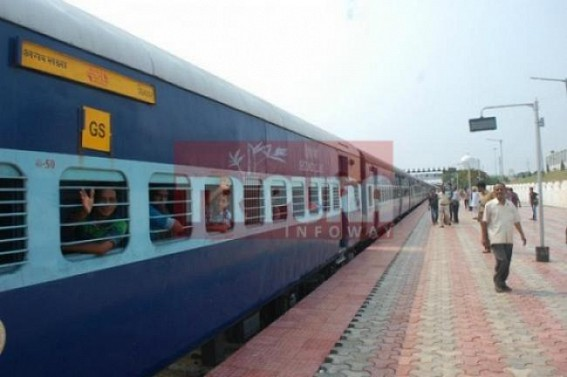 DEMU Train service to kick off before Durga Puja in Tripura : State Govt now pushes Centre for more connectivity including double-lane Rail-line between Agartala to Lumding