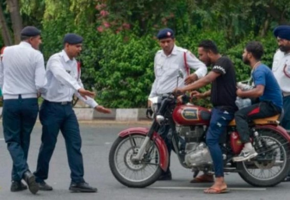 Political tussle in Goa over new traffic rules