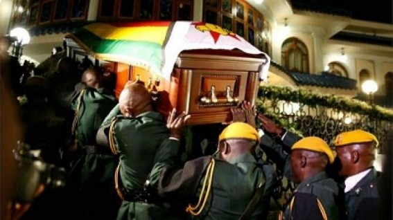 Mugabe's family shocked over funeral plans by govt