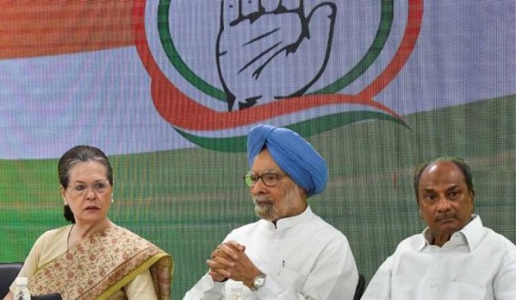 Democracy in peril, govt misusing mandate: Sonia