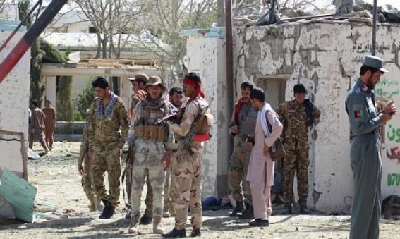 20 dead in Afghan blast claimed by Taliban