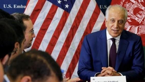 Khalilzad briefs US Congress of US-Taliban talks