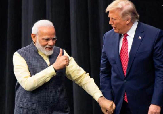 On way to 'Howdy, Modi!', Trump says: 'Tremendous respect for Modi'
