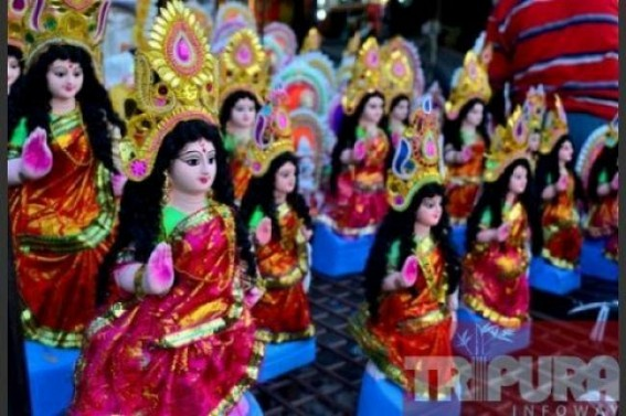 With Durga puja ends, preparations to begin in households to celebrate Laxmi puja