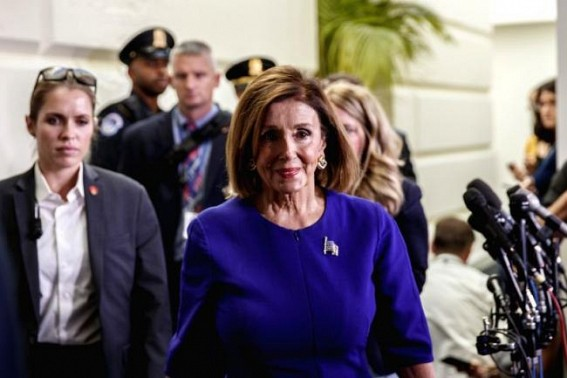 Pelosi doesn't back down, goes for the kill