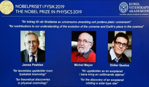 3 scientists share Nobel Prize in Chemistry