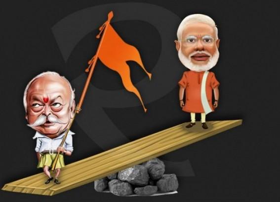 'Congress had Manmohon, BJP has Mohon Bhagwat as economists', Congress hits BJP on nationwide slowdown