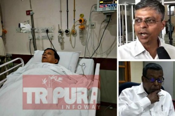 High Court received fresh petition for 'arrested' Badal Choudhury's bail, Next hearing October 24, police allegedly trying to drag Choudhury at Court today from ICU showing 'arrest'