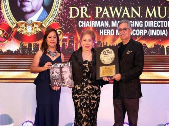 Pawan Munjal inducted into Asia Pacific Golf Hall of Fame