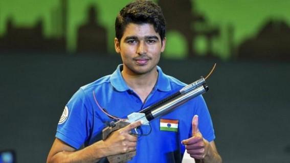Saurabh shoots silver at 14th Asian Championships