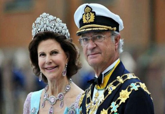 Swedish royal couple in India on 5-day visit