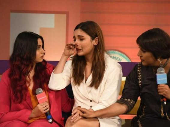 Alia breaks down while talking about sister's depression