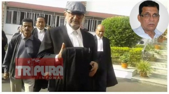 'How can Police investigate Assembly passed Cost-Plus ?', Senior Advocate Bikash Bhattacharjee questions on Tripura Police's hyper-active, Politically motivated FIR against Badal Choudhury